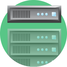 You have your own dedicated server