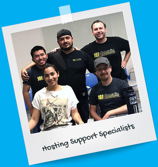 Your dedicated hosting support team