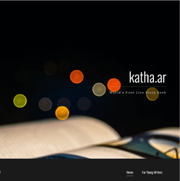 Screenshot of kath.ar website